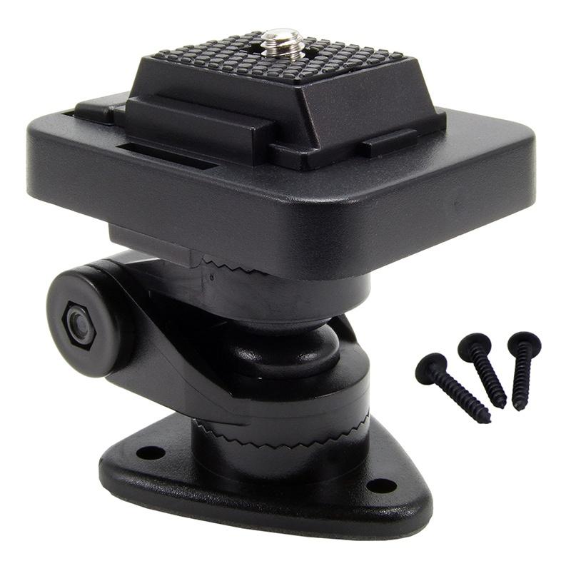 support multi angles appareil photo pour voiture arkon cmp128 fixation adh sive a vis. Black Bedroom Furniture Sets. Home Design Ideas