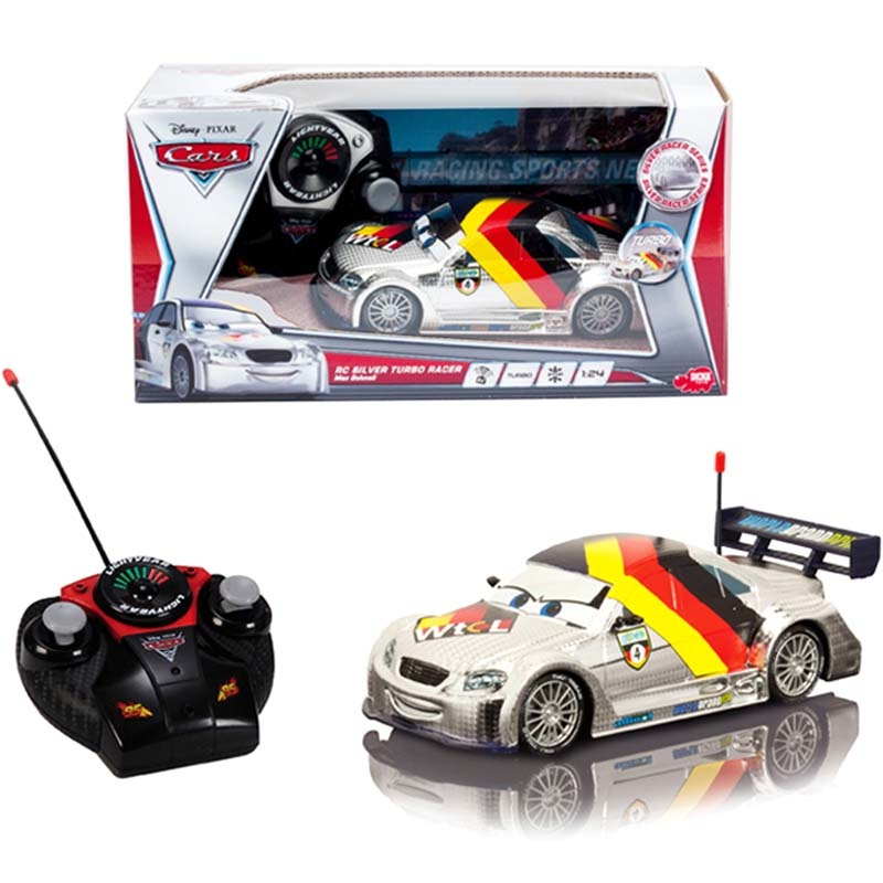 voiture t l command e max schnell cars 2 1 24 de dickie rc. Black Bedroom Furniture Sets. Home Design Ideas