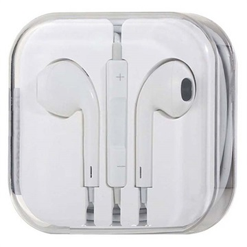 Kit Piéton Intra-Auriculaire pour iPhone, iPad, iPod - Blanc