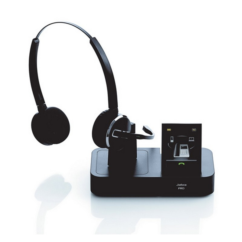 Jabra Pro 9460 Duo Wireless Headset With Touchscreen For: Micro-Casque Sans Fil & Bluetooth Jabra GN PRO 9465 DUO
