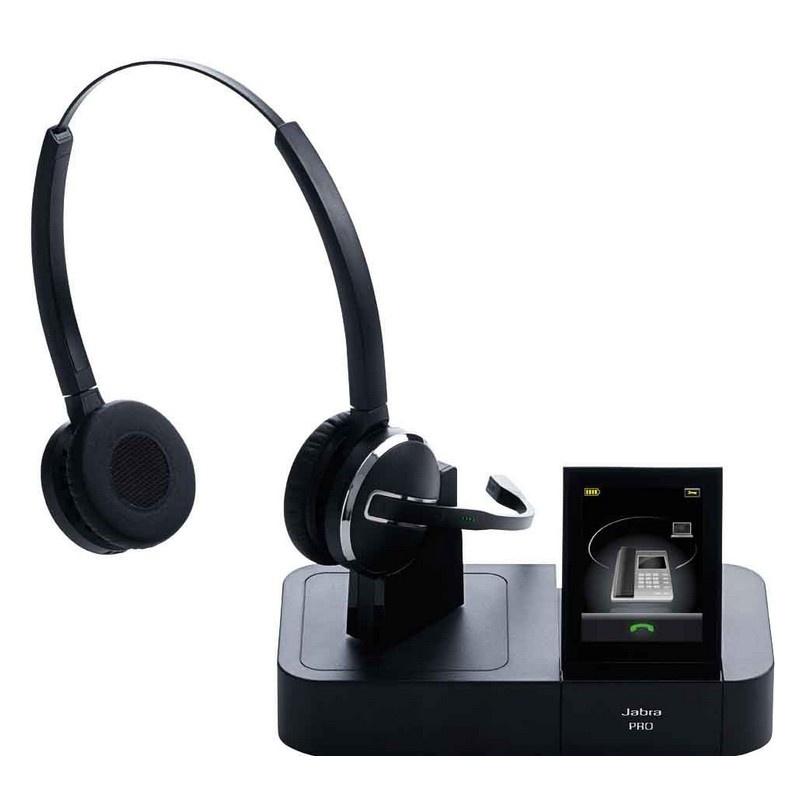 micro casque sans fil jabra gn pro 9460 duo dect. Black Bedroom Furniture Sets. Home Design Ideas