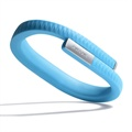 Bracelet Jawbone UP pour iPhone 5S, HTC One MAX, Xperia Z1 Compact - L - Bleu