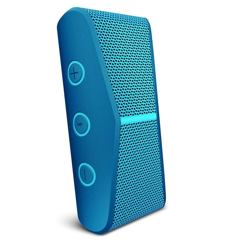 haut parleur st r o portable bluetooth logitech x300 bleu. Black Bedroom Furniture Sets. Home Design Ideas