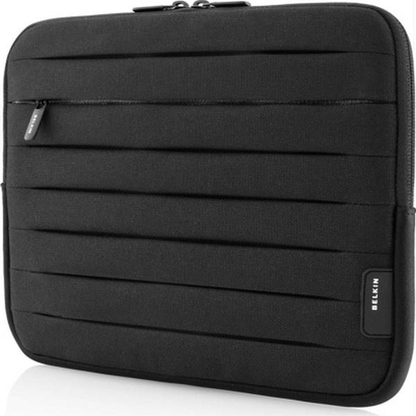 housse pliss e belkin f8n371cwbkw pour macbook pro 13 noire. Black Bedroom Furniture Sets. Home Design Ideas
