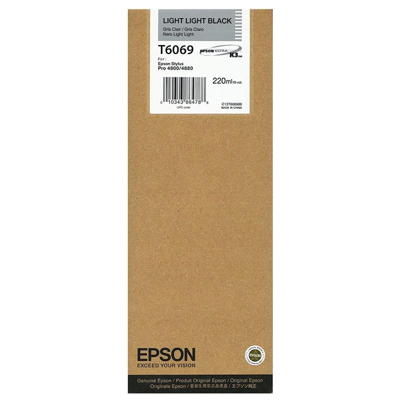 cartouche d encre t6069 pour epson stylus pro 4800 stylus. Black Bedroom Furniture Sets. Home Design Ideas