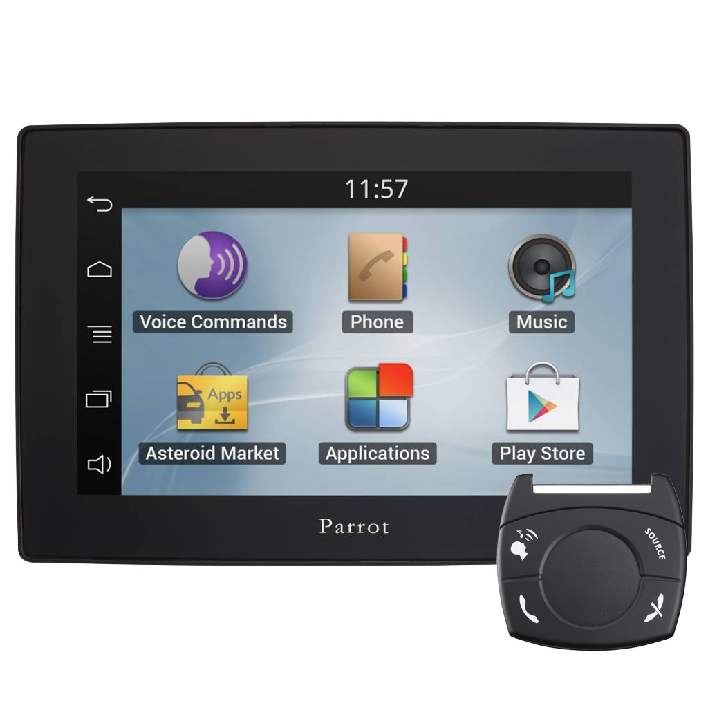 kit voiture bluetooth parrot asteroid tablet. Black Bedroom Furniture Sets. Home Design Ideas