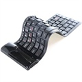 Clavier Bluetooth Enroulable - Noir
