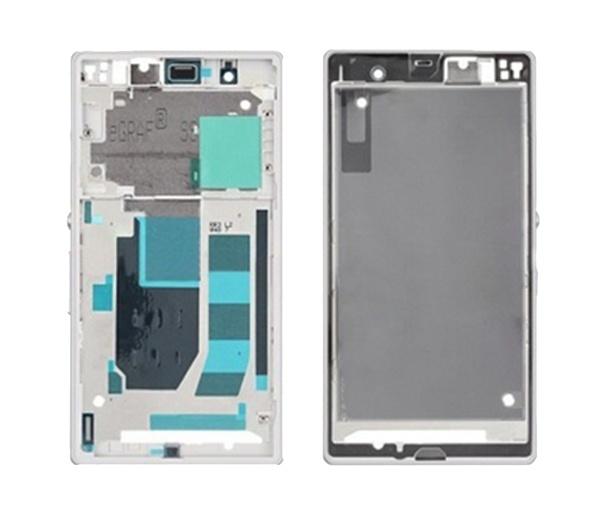 Sony Xperia Z Front Cover - WhiteXperia Z White Front