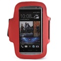 Brassard Sport Gym pour HTC One mini - Rouge