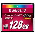 Carte Mémoire Flash Compacte Transcend TS128GCF800 800X - 128Go