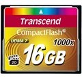 Carte Mémoire Flash Compacte Transcend TS16GCF1000 1000X - 16Go