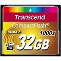 Carte Mémoire Flash Compacte Transcend TS32GCF1000 1000X - 32Go