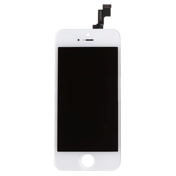 ecran lcd pour iphone 5s blanc haute qualit. Black Bedroom Furniture Sets. Home Design Ideas
