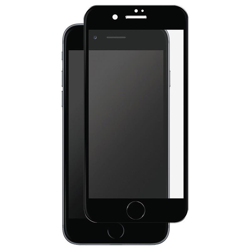 protecteur d 39 cran iphone 7 iphone 8 en verre tremp panzer full fit noir. Black Bedroom Furniture Sets. Home Design Ideas