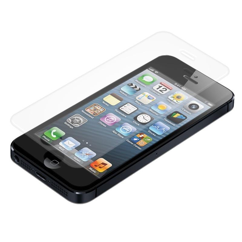 film de protection ecran naztech premium tempered glass pour iphone 5 iphone 5s iphone se. Black Bedroom Furniture Sets. Home Design Ideas