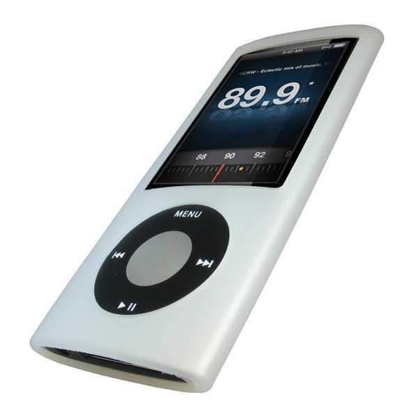 Housse en silicone igadgitz pour ipod nano 5g 8go 16go for Housse ipod nano 7