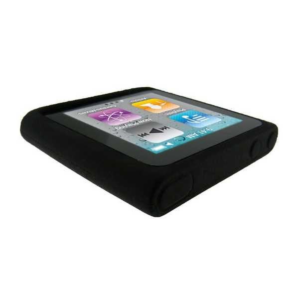 Housse en silicone igadgitz pour ipod nano 6g 8go 16go for Housse ipod nano