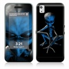 Abduction Skin pour Samsung M900 Moment Instinct Q - Bleu